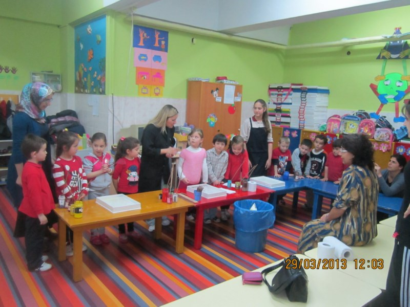 Turkey - Our Activity (The Art Of Marbled - The Nursery Class)